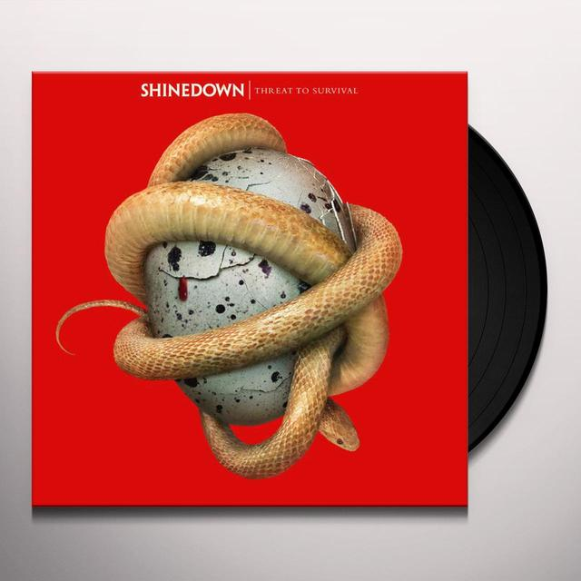 Shinedown THREAT TO SURVIVAL Vinyl Record - Canada Import