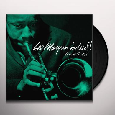 Lee Morgan INDEED Vinyl Record - Gatefold Sleeve, Limited Edition, 180 Gram Pressing, Remastered