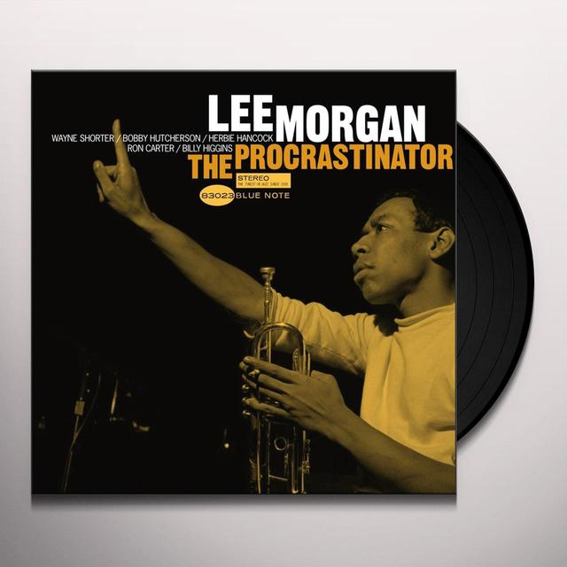 Lee Morgan PROCRASTINATOR Vinyl Record - Gatefold Sleeve, Limited Edition, 180 Gram Pressing, Remastered