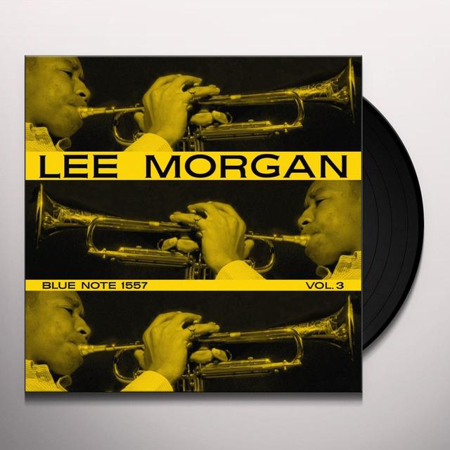Lee Morgan VOL. 3 Vinyl Record - Gatefold Sleeve, Limited Edition, 180 Gram Pressing, Remastered, Mono