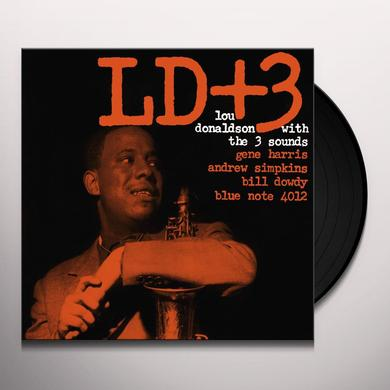 Lou Donaldson & 3 Sounds LD+3 Vinyl Record