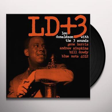 Lou Donaldson & 3 Sounds LD+3 Vinyl Record - Gatefold Sleeve, Limited Edition, 180 Gram Pressing, Remastered