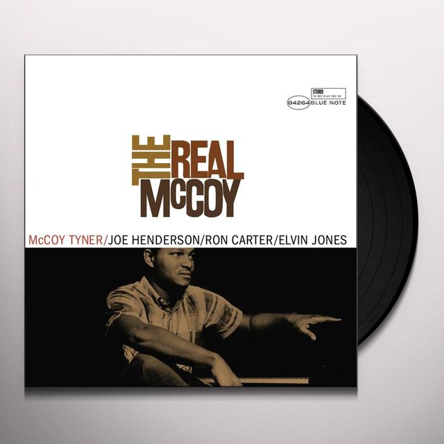 Mccoy Tyner REAL MCCOY Vinyl Record - Gatefold Sleeve, Limited Edition, 180 Gram Pressing, Remastered