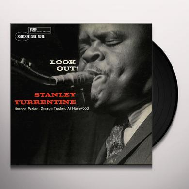 Stanley Turrentine LOOK OUT Vinyl Record - Gatefold Sleeve, Limited Edition, 180 Gram Pressing, Remastered