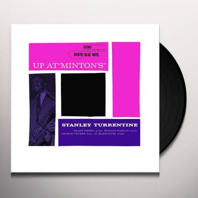 Stanley Turrentine UP AT MINTONS 2 Vinyl Record - Gatefold Sleeve, Limited Edition, 180 Gram Pressing, Remastered
