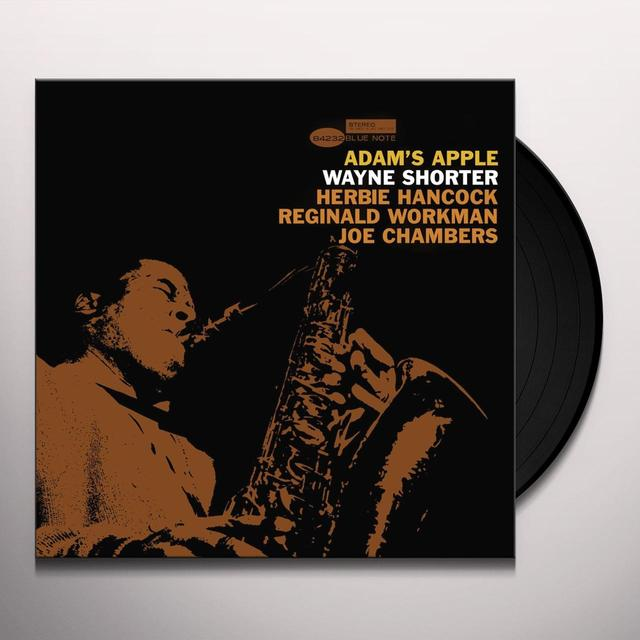 Wayne Shorter ADAM'S APPLE Vinyl Record - Gatefold Sleeve, Limited Edition, 180 Gram Pressing, Remastered