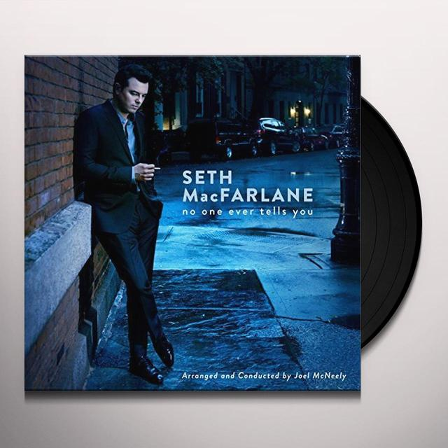 Seth MacFarlane NO ONE EVER TELLS YOU Vinyl Record