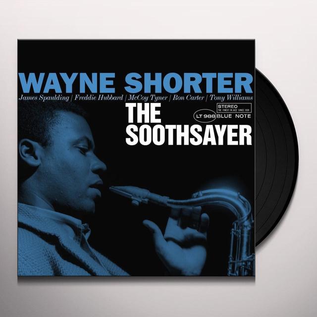 Wayne Shorter SOOTHSAYER Vinyl Record - Gatefold Sleeve, Limited Edition, 180 Gram Pressing, Remastered