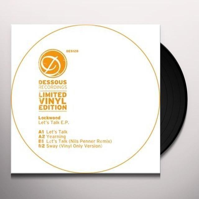 LOCKWOOD LET'S TALK (EP) Vinyl Record