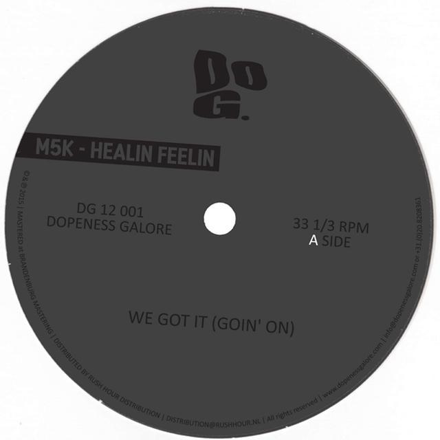M5K HEALIN FEELIN Vinyl Record