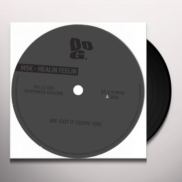 M5K HEALIN FEELIN Vinyl Record
