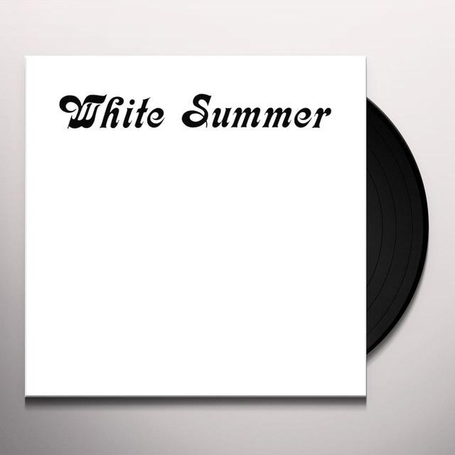 WHITE SUMMER Vinyl Record