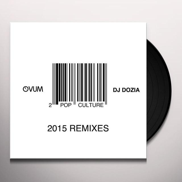 DJ Dozia POP CULTURE REMIXES PT. 1 Vinyl Record