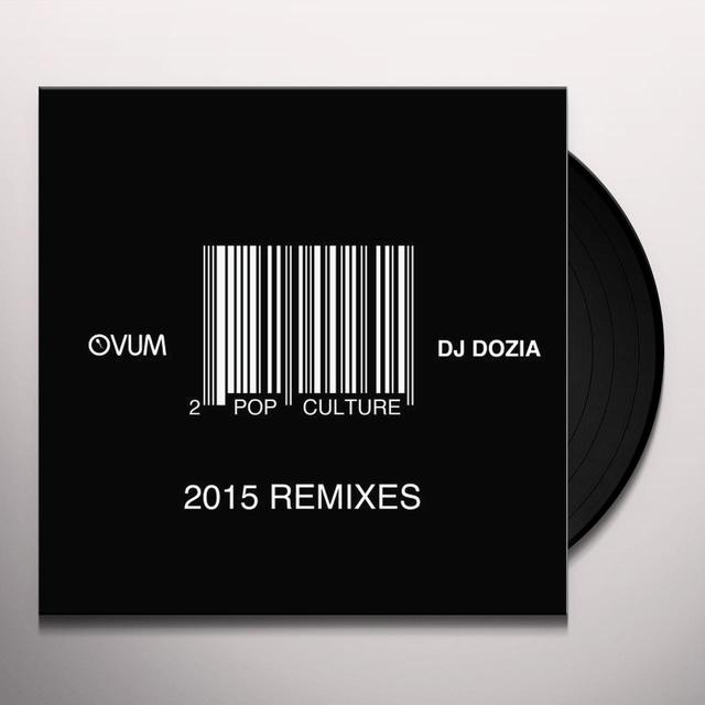 DJ Dozia POP CULTURE REMIXES PT. 2 Vinyl Record
