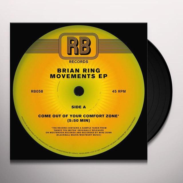 Brian Ring MOVEMENTS (EP) Vinyl Record