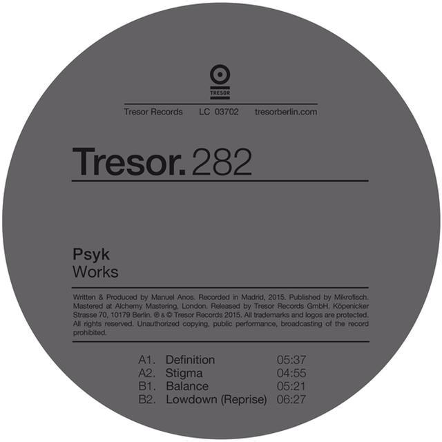 Psyk WORKS Vinyl Record