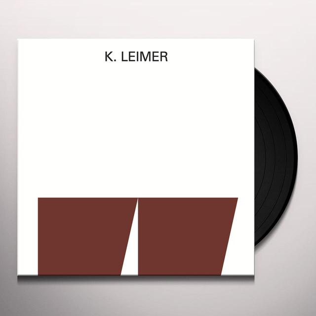 K. Leimer RECORDINGS 1977-1980 Vinyl Record - Limited Edition