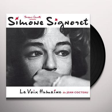 Simone Signoret LA VOIX HUMAINE (DE JEAN COCTEAU) Vinyl Record