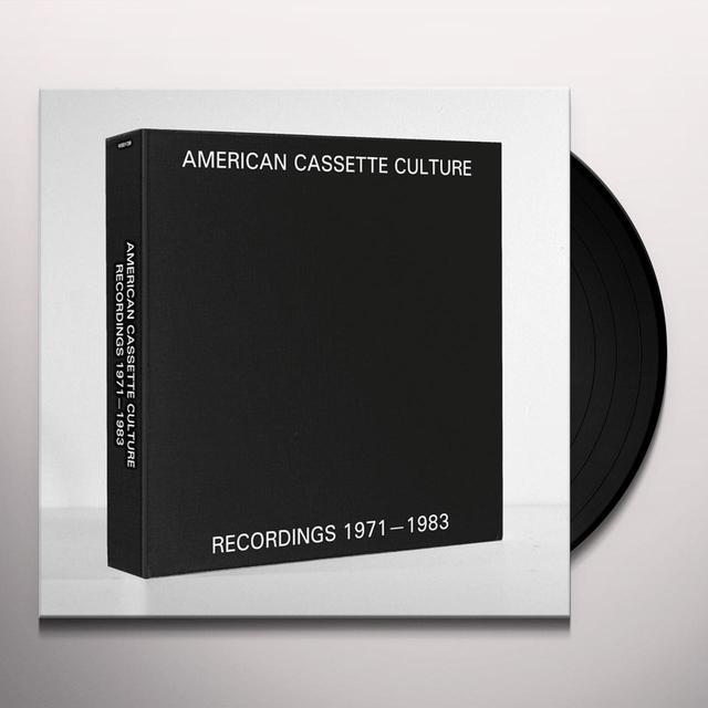 AMERICAN CASSETTE CULTURE: RECORDINGS 1971 / VAR Vinyl Record