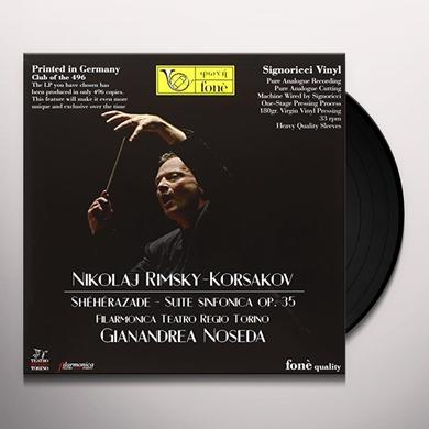 Gianandrea Noseda NIKOLAJ RIMSKY-KORSAKOV Vinyl Record
