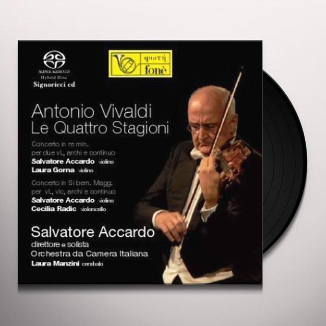 Salvatore Accardo ORCHESTRA DA CAMERA ITALIANA Vinyl Record - Italy Import
