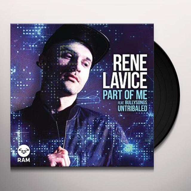 Rene Lavice PART OF ME Vinyl Record - UK Import