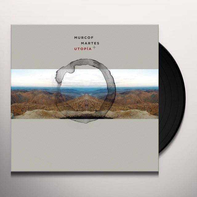 Murcof MARTES + UTOPIA Vinyl Record - w/CD