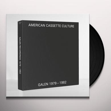 Galen MODULAR ELECTRONICS: RECORDINGS 1979-1982 Vinyl Record - Limited Edition