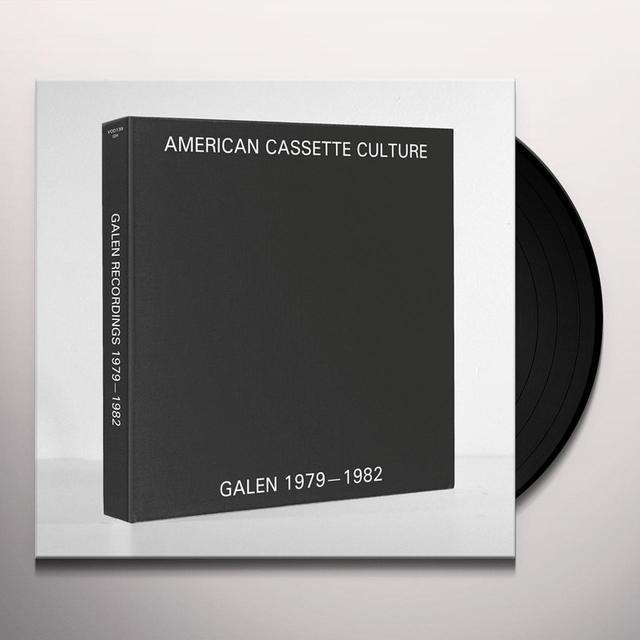 Galen MODULAR ELECTRONICS: RECORDINGS 1979-1982 Vinyl Record