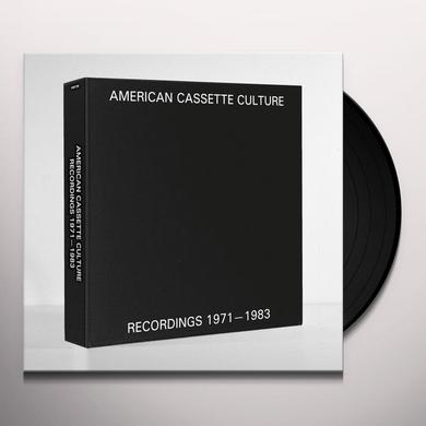 AMERICAN CASSETTE CULTURE: RECORDINGS 1971 / VAR Vinyl Record