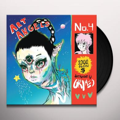Grimes ART ANGELS Vinyl Record