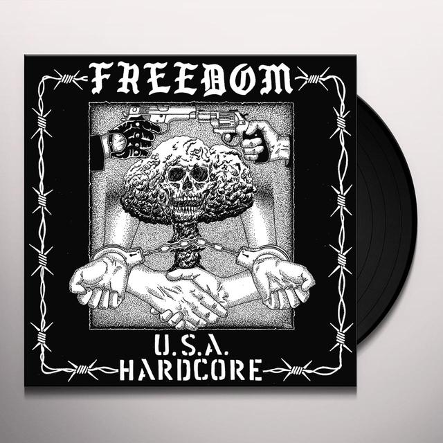 Freedom USA HARDCORE Vinyl Record - Digital Download Included