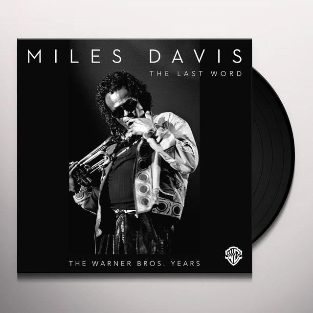 Miles Davis LAST WORD: THE WARNER BROS YEARS (BOX) Vinyl Record - Remastered