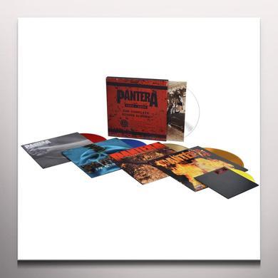 Pantera COMPLETE STUDIO ALBUMS 1990-2000  (WSV) Vinyl Record - Colored Vinyl