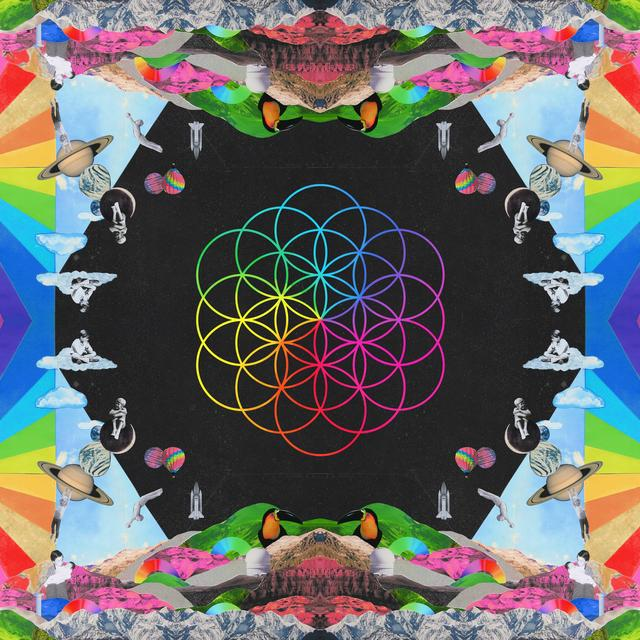 Coldplay HEAD FULL OF DREAMS Vinyl Record