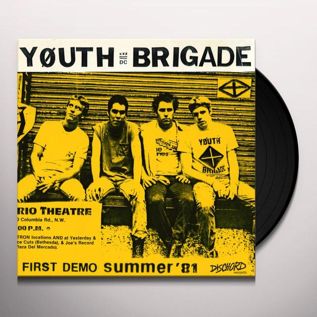 Youth Brigade COMPLETE FIRST DEMO Vinyl Record