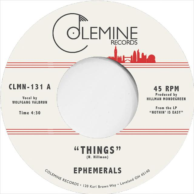 Ephemerals THINGS / LOVING GUARANTEED Vinyl Record