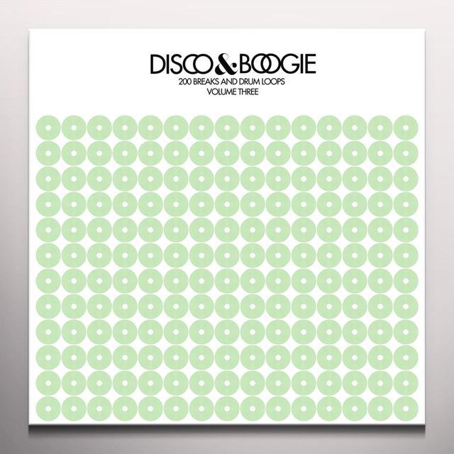 Disco & Boogie 200 BREAKS & DRUM LOOPS 3 Vinyl Record - Green Vinyl