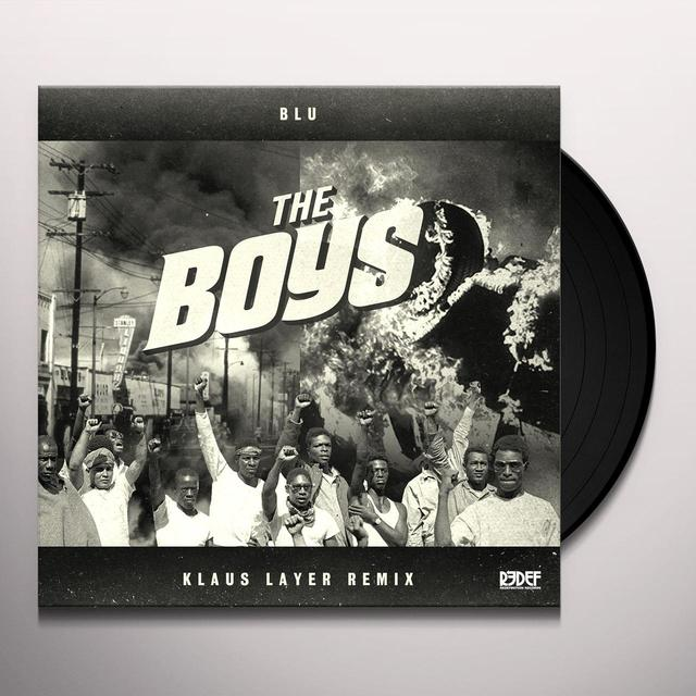 Klaus Layer / Blu BOYS (REMIX) / INSTRUMENTAL Vinyl Record