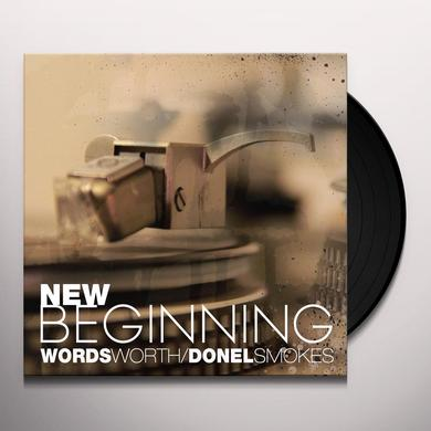 WORDSWORTH / DONEL SMOKES NEW BEGINNING Vinyl Record