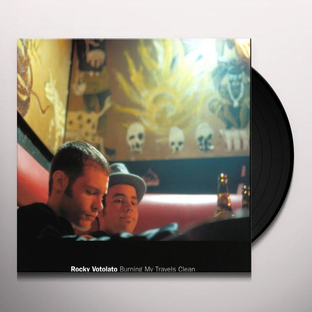 Rocky Votolato BURNING MY TRAVELS CLEAN Vinyl Record - Digital Download Included
