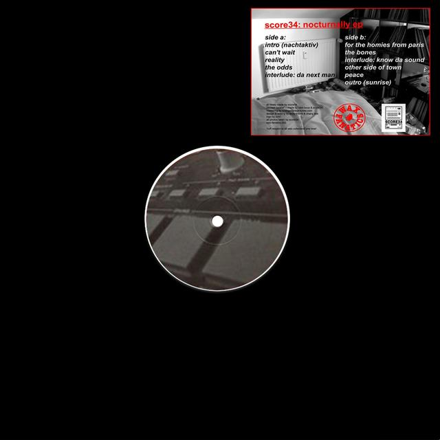 SCORE34 NOCTURNALLY Vinyl Record