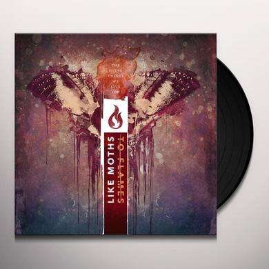 Like Moths to Flames DYING THINGS WE LIVE FOR Vinyl Record - w/CD