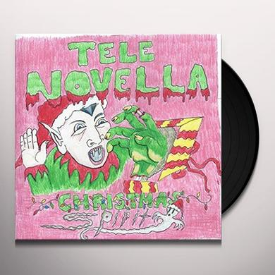 Tele Novella CHRISTMAS SPIRIT/PURPLE SNOWFLAKES Vinyl Record