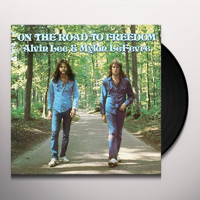 Alvin Lee & Mylon Lefevre ON THE ROAD TO FREEDOM Vinyl Record - UK Import