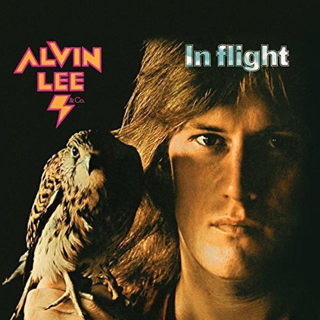 Alvin Lee & Co IN FLIGHT Vinyl Record