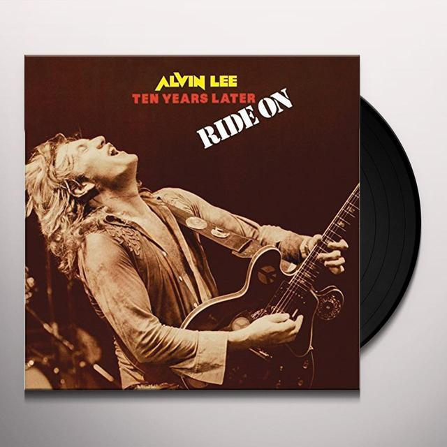 Alvin Lee & Ten Years Later RIDE ON Vinyl Record - UK Import