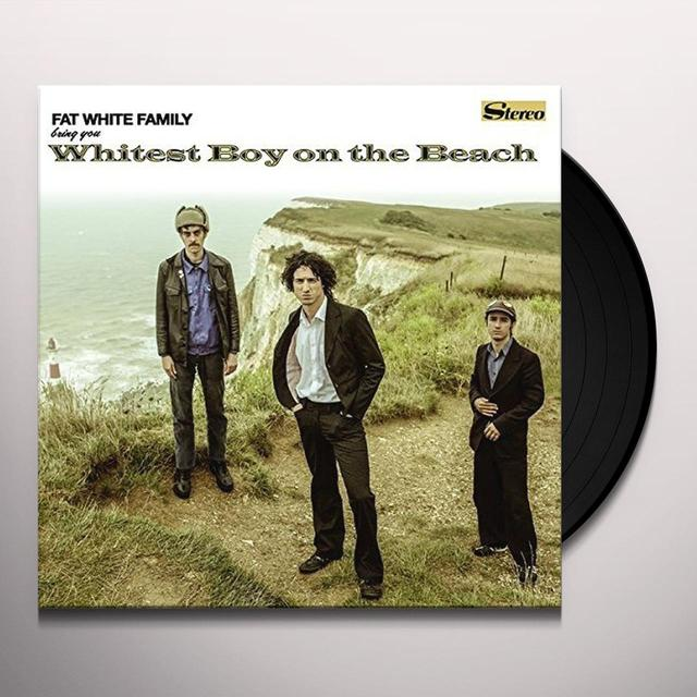 Fat White Family WHITEST BOY ON THE BEACH Vinyl Record - UK Release