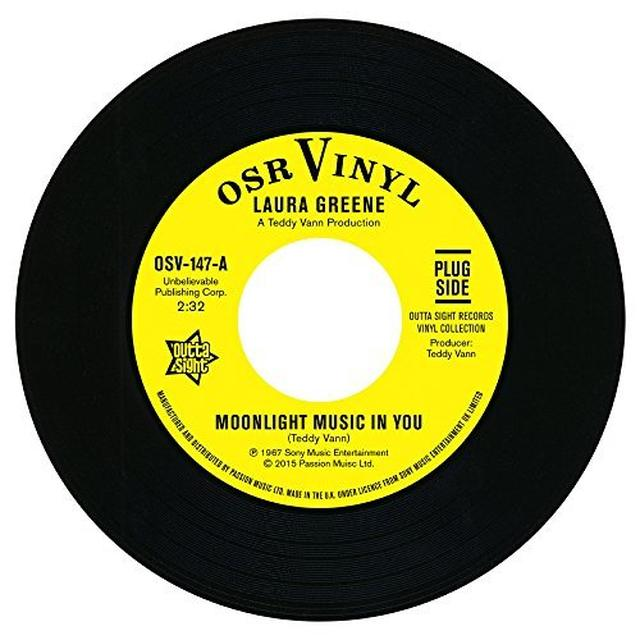 Laura Greene & Peggy March MOONLIGHT MUSIC & YOU / IF YOU LOVED ME Vinyl Record