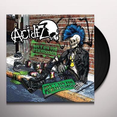 ACIDEZ DON'T ASK FOR PERMISSION (RANDOM BLACK YELLOW BLUE Vinyl Record